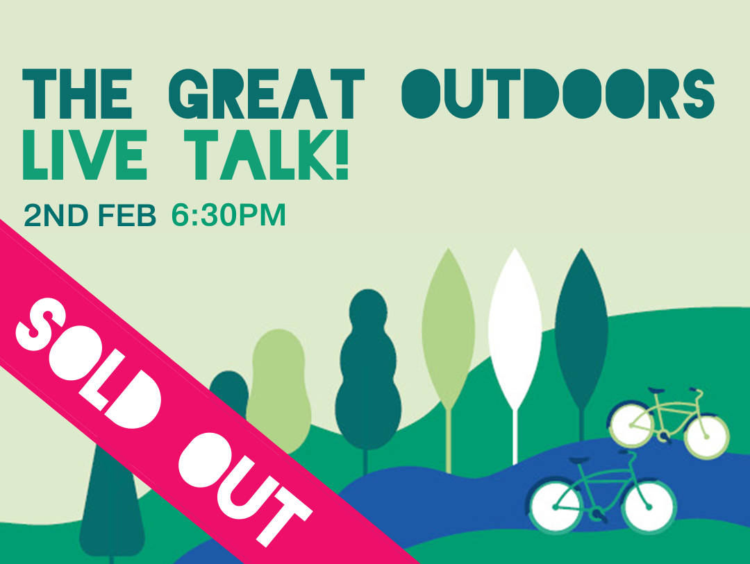 Talk 2: The Great Outdoors