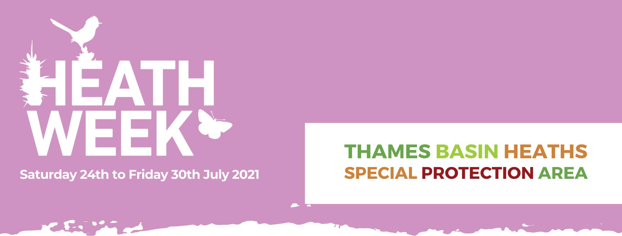 Heath Week 24 – 30 July 2021